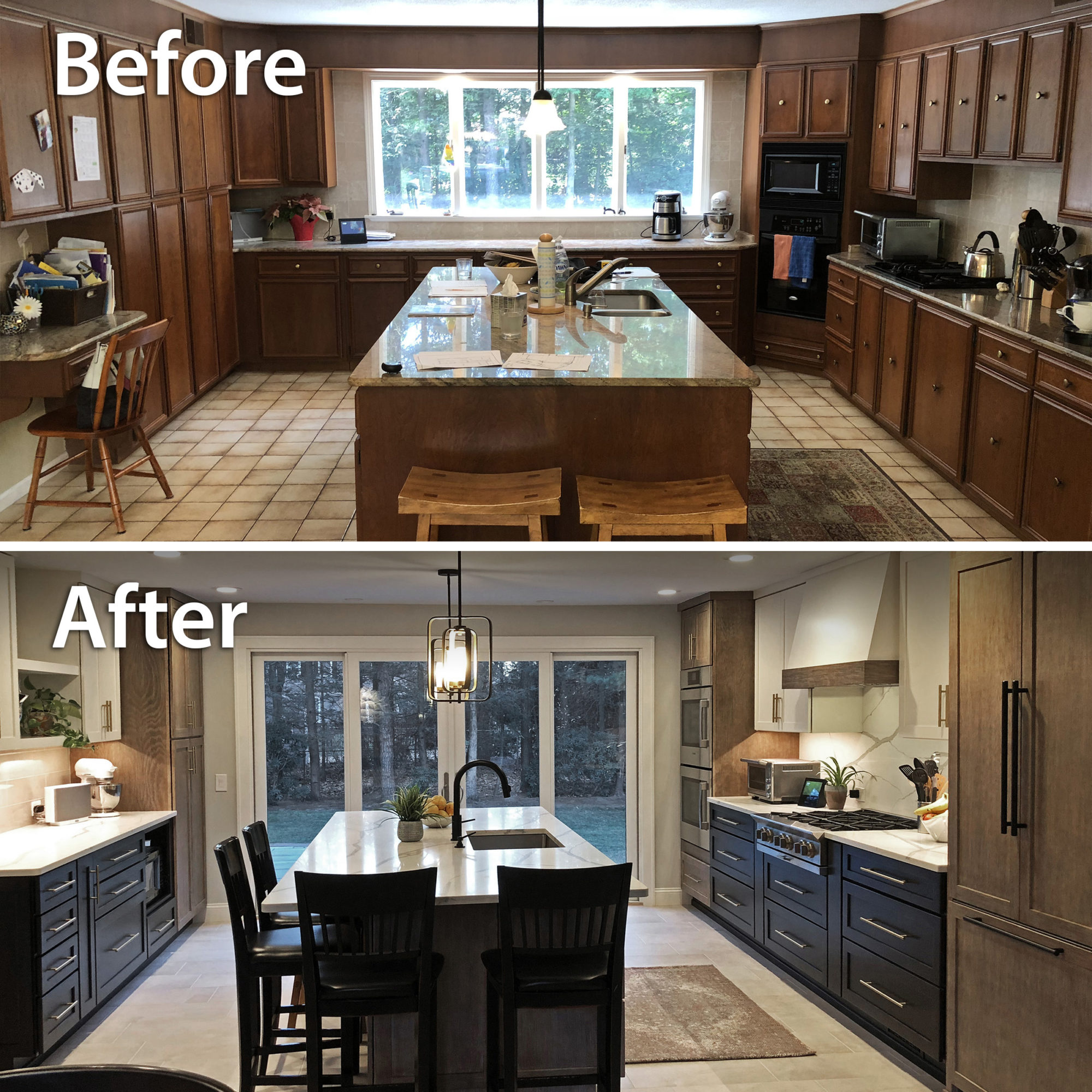 Kitchen Remodel in Longmeadow, MA by Legacy Construction