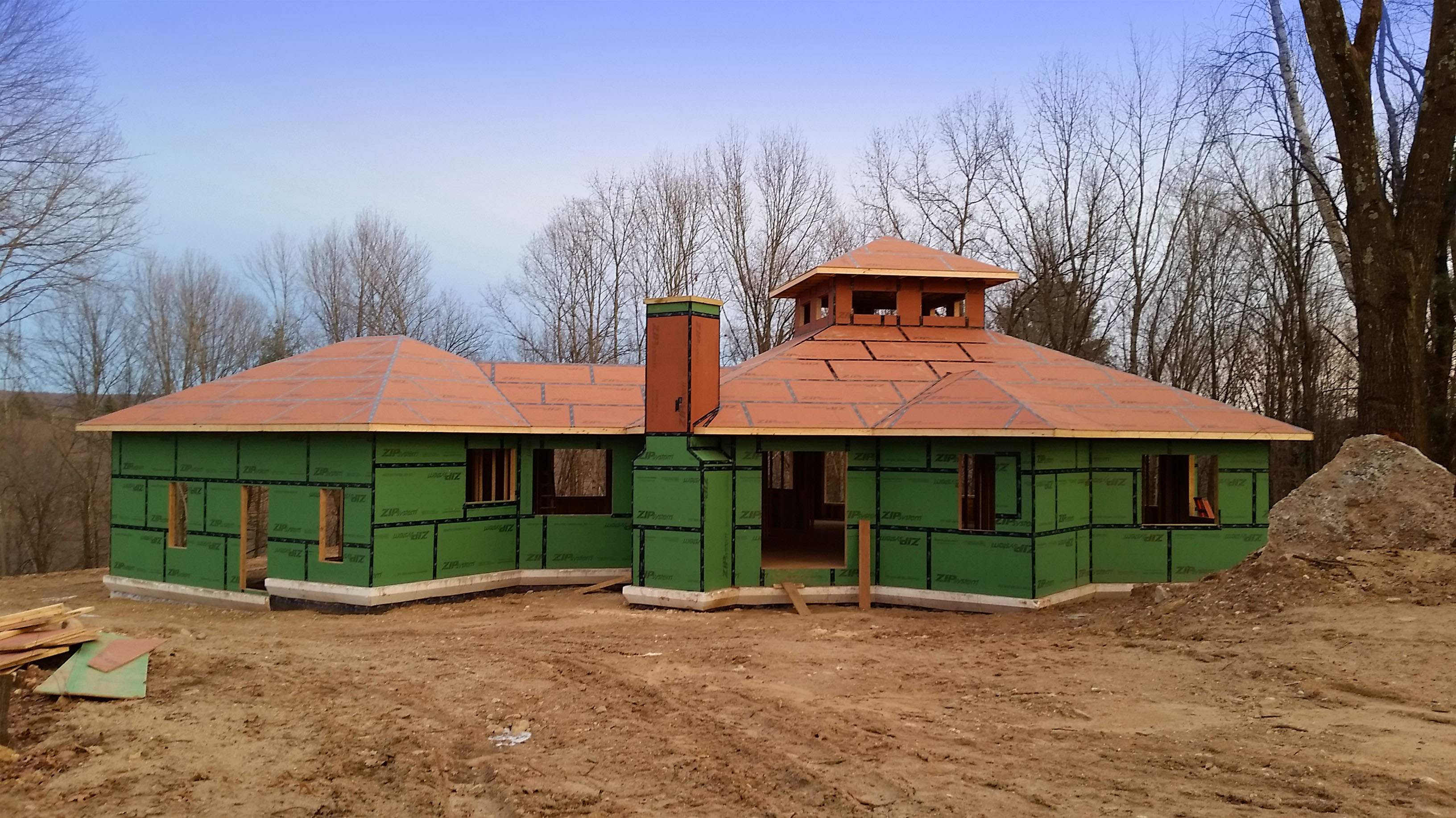 Dan's Construction Service Inc builds a custom home in Ludlow, MA