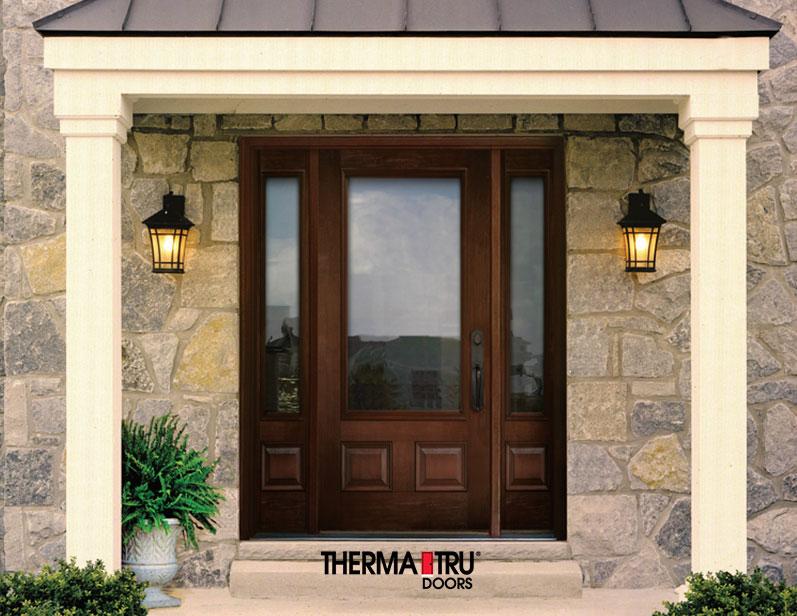 Therma Tru Entry Doors at Kelly Fradet