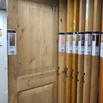Simpson Knotty Alder Door