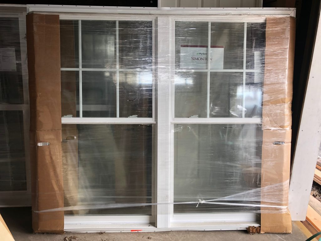Simonton Double Hung Twin Window