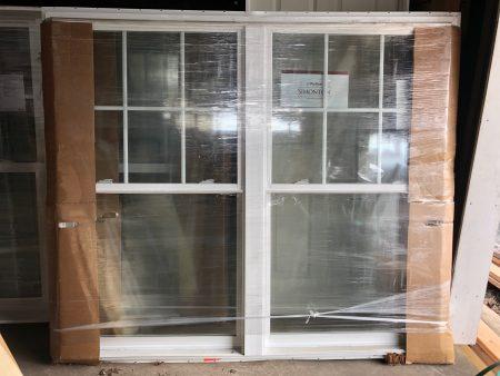 Simonton Double Hung Twin Window