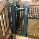 Trex Railing Transcend Post Sleeve in Black with Aluminum Round Black Balusters