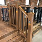 Trex Railing Transcend Crown Top Rail in Tree House with Square Composite Tree House Balusters