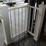 Trex Railing Transcend 6×6 Post Sleeve White with Signature Square White Balusters