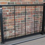 Westbury Railing VertiCable Black Aluminum and Stainless Cable