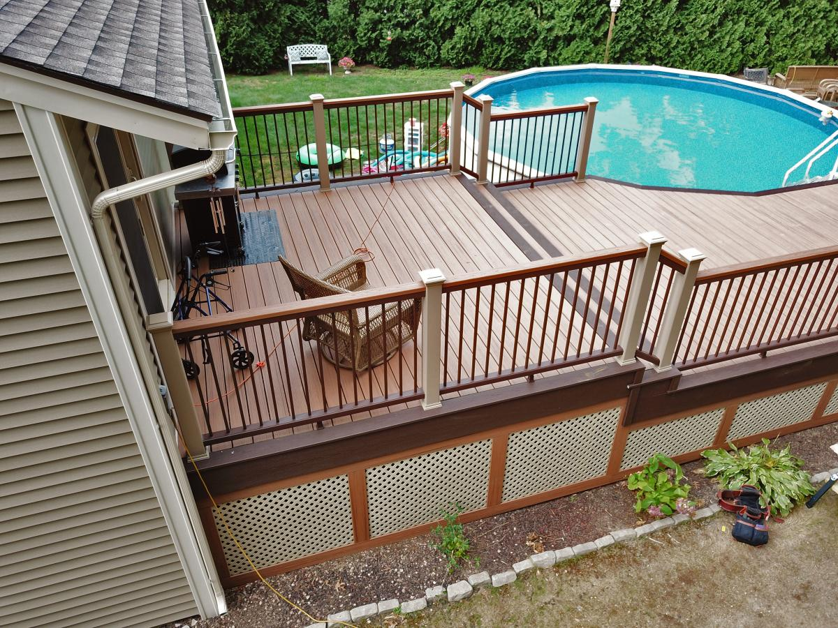 Trex Decking at Kelly-Fradet