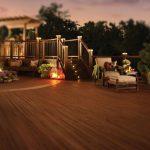 Night Life Deck - Trex Decking at Kelly-Fradet