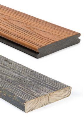Trex versus Wood Decking