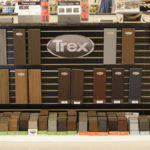 Trex Decking Display Colors and samples