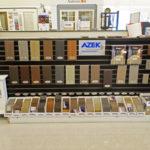 Azek Decking Display Colors and samples