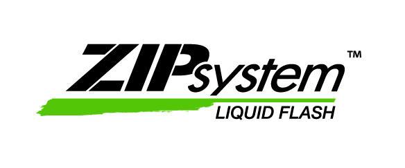 ZIP System Liquid Flash Logo