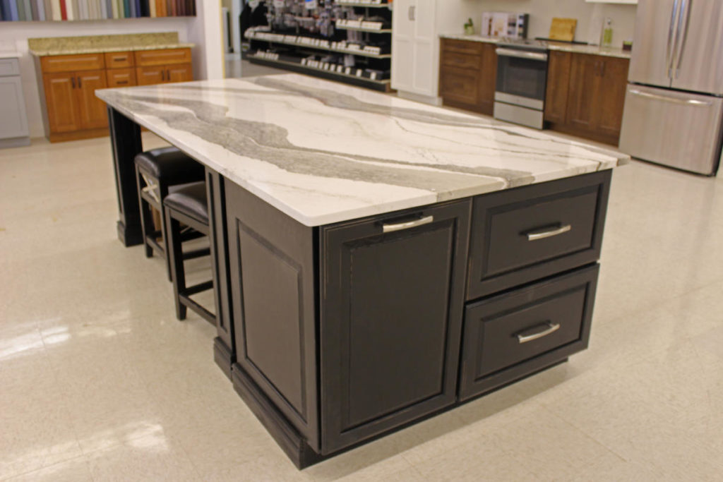 Kitchen Countertop Island Display at East Longmeadow location
