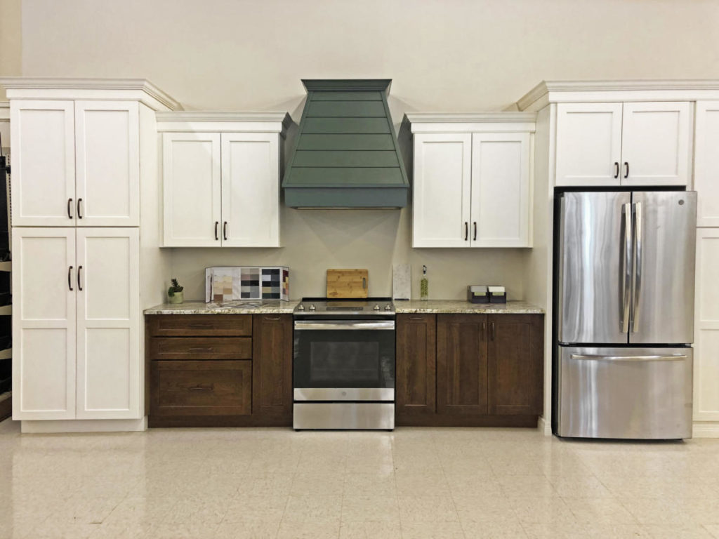 E. Longmeadow Kitchen Displays