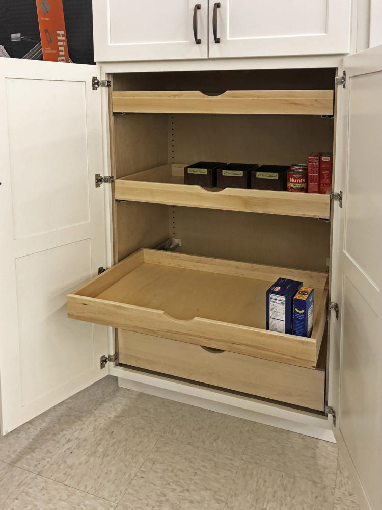 Storage Options - Cabinetry at E. Longmeadow
