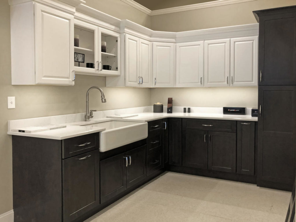 Kitchen Display at East Longmeadow location - Cabinets and Countertops