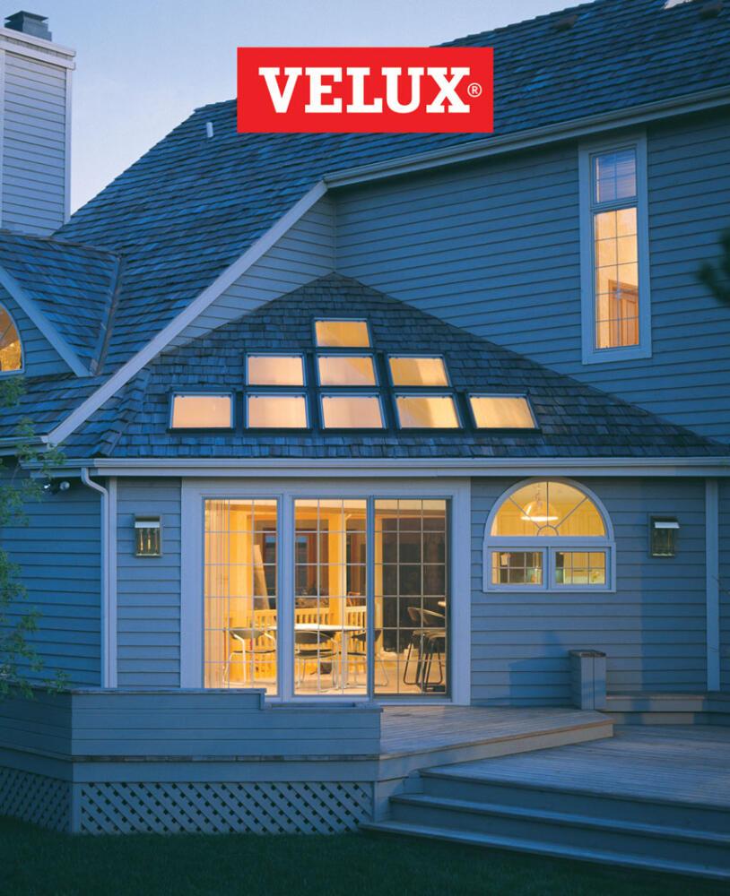 Velux Skylights at Kelly-Fradet