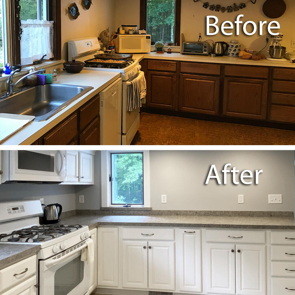 RG Renovations transforms a kitchen in Tolland, CT