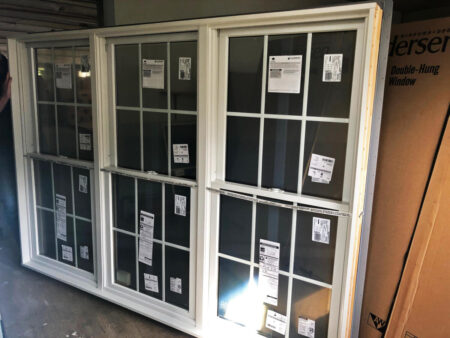 Andersen 400-Series Tilt-Wash Double Hung Triple Window