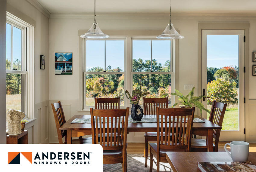 A-Series Double-Hung windows by Andersen