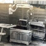 70-years-hanging-sign-retro-image