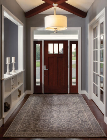 New for 2021: Fiber-Classic<sup>®</sup> Mahogany Collection™ Shaker-Style Doors and Sidelites by Therma-Tru
