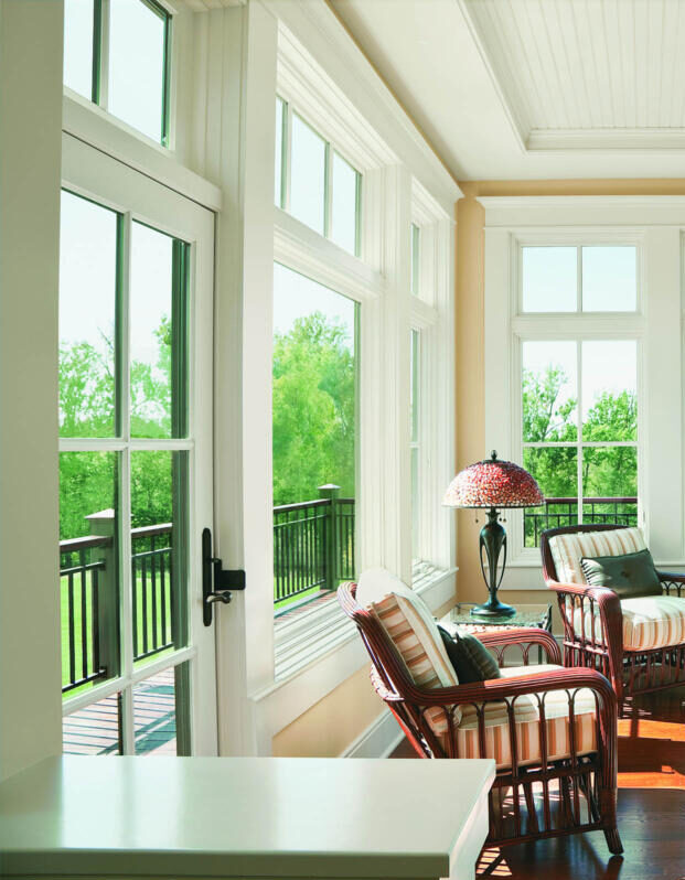 Andersen A-Series Hinged Patio Doors: Architectural Style Made Easy