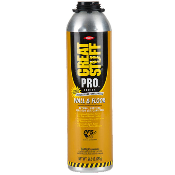 DOW GREAT STUFF PRO WALL & FLOOR