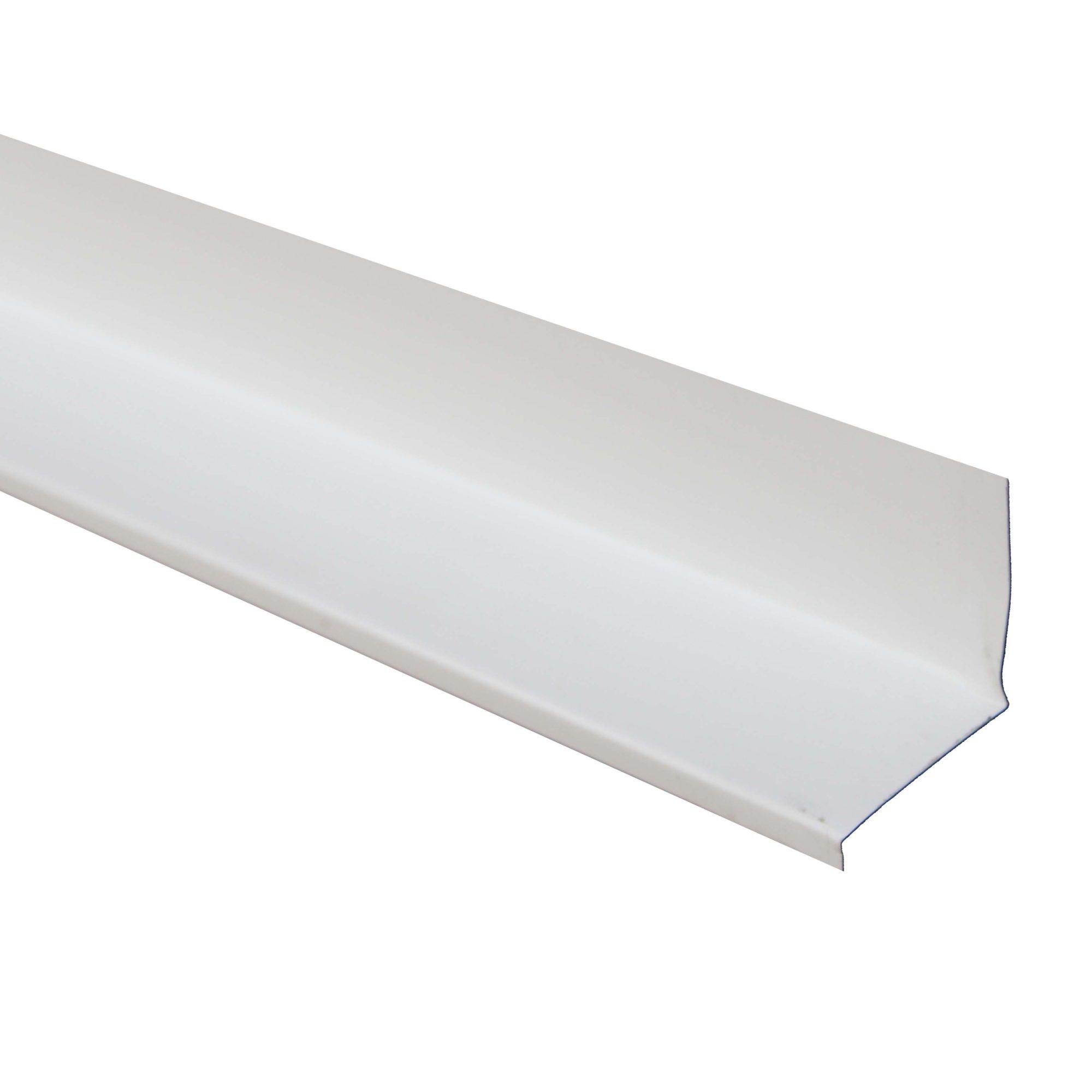 Window Drip Cap Aluminum White