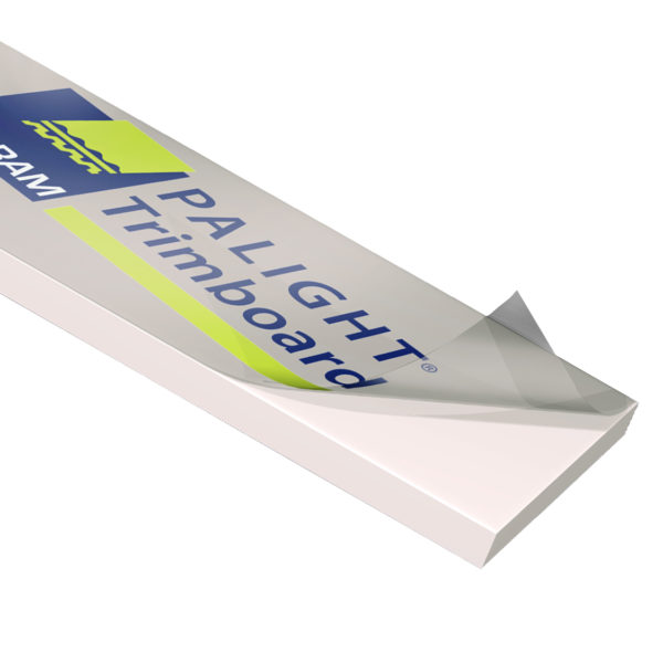 PALIGHT PVC EXPANDED TRIM BOARD, WHITE