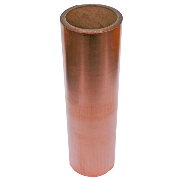 COPPER ROLL FLASHING WITH POLYMER BACK