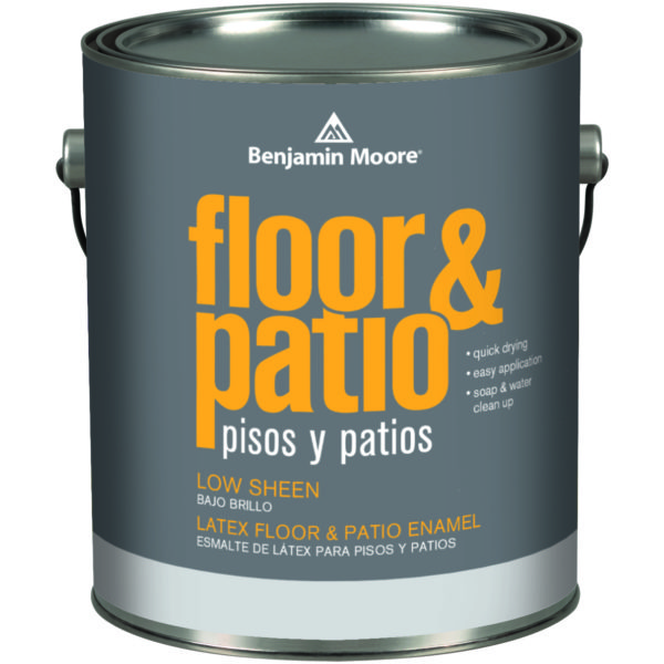 LATEX FLOOR AND PATIO LOW SHEEN ENAMEL