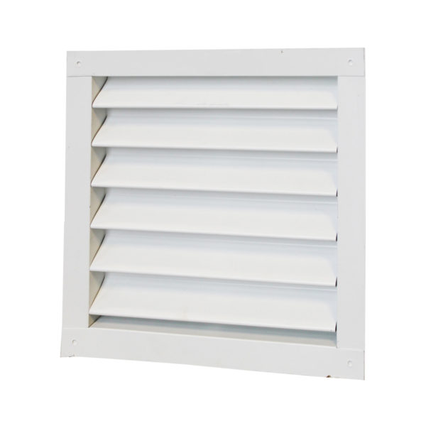 RECTANGULAR WALL LOUVER (1212LW) WHITE
