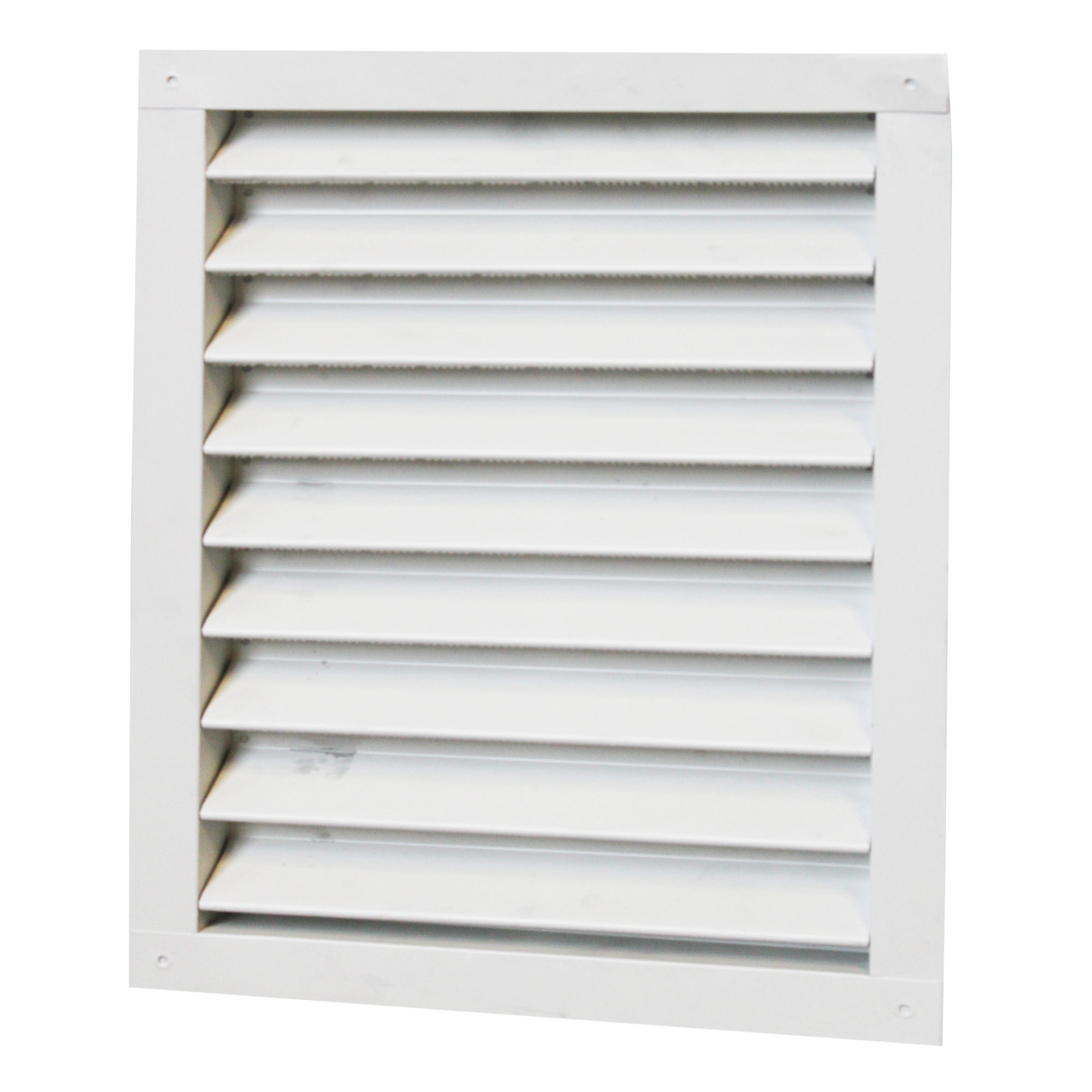 RECTANGULAR WALL LOUVER (1218LW) WHITE