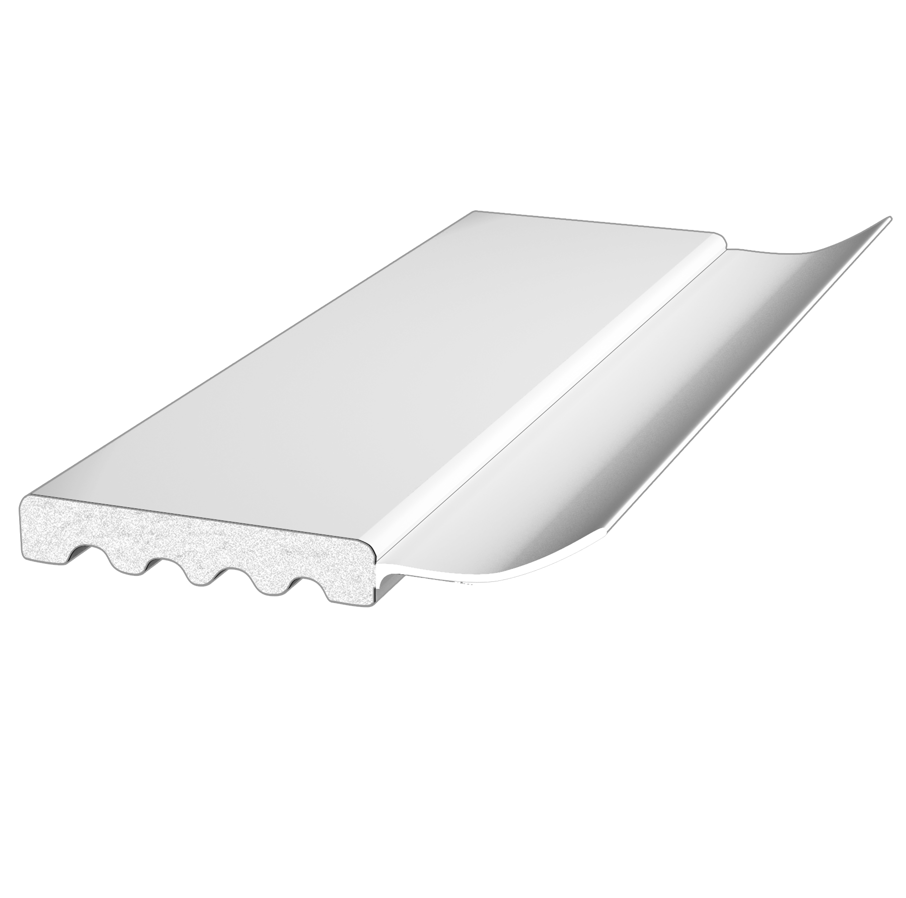 PALIGHT WHITE PVC GARAGE DOOR STOP