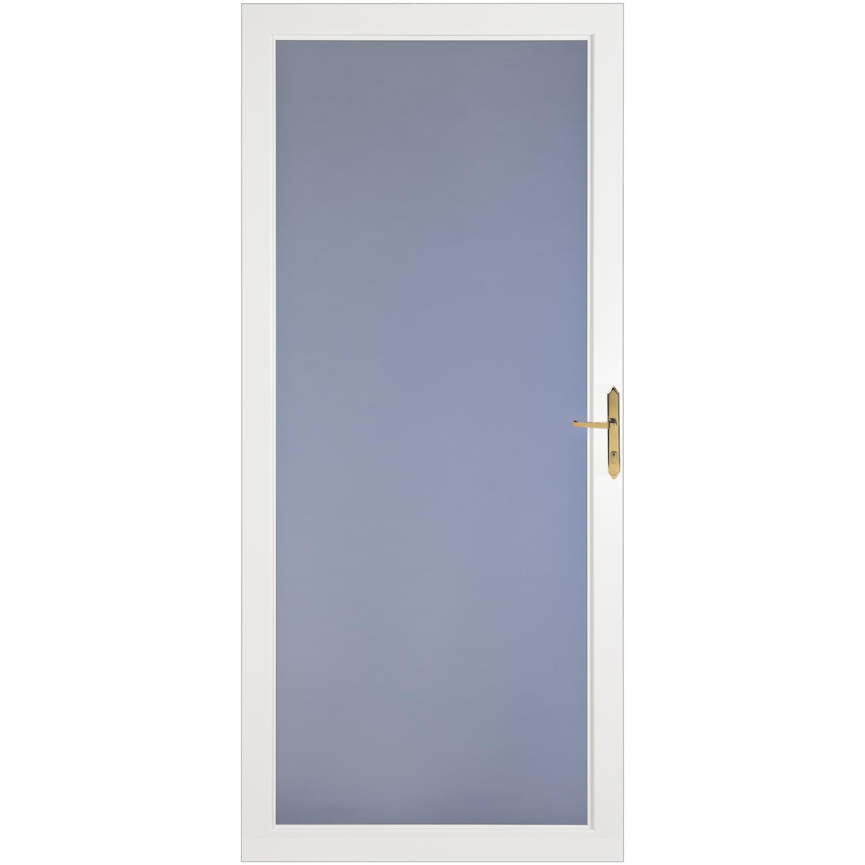 LARSON DOOR CLASSIC VIEW FULL VIEW BRASS