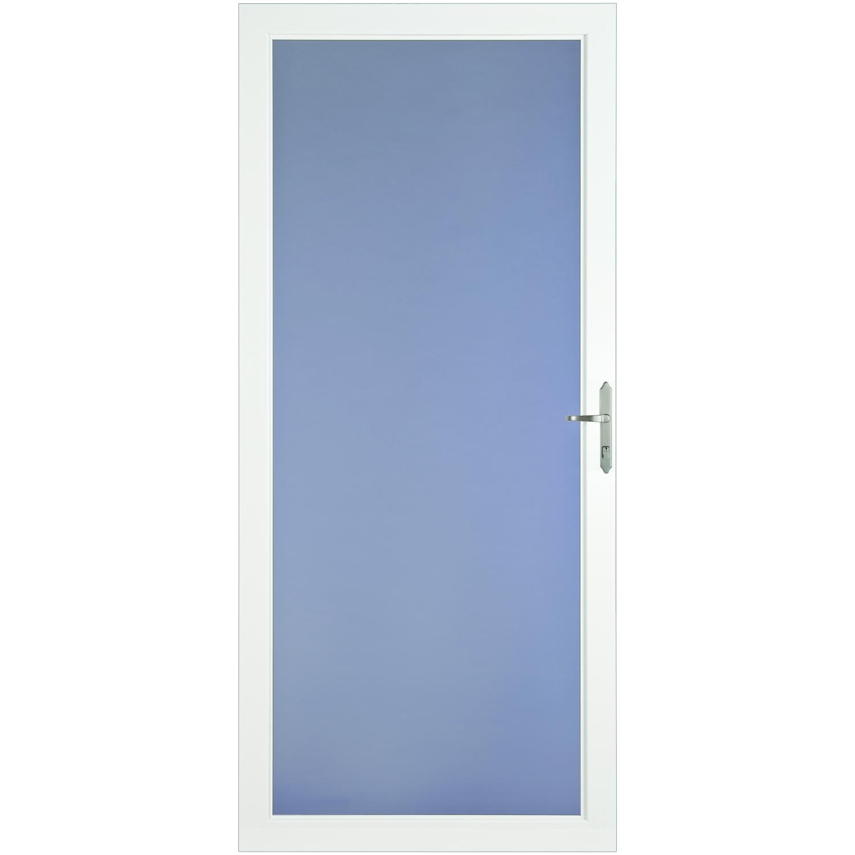 LARSON DOOR CLASSIC VIEW FULL VIEW NICKL