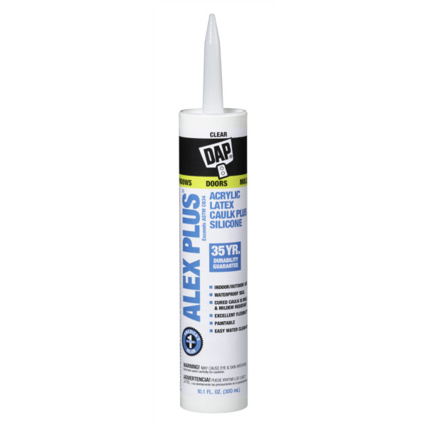 ALEX PLS ACRYLIC LATEX CAULK SILICONE CL