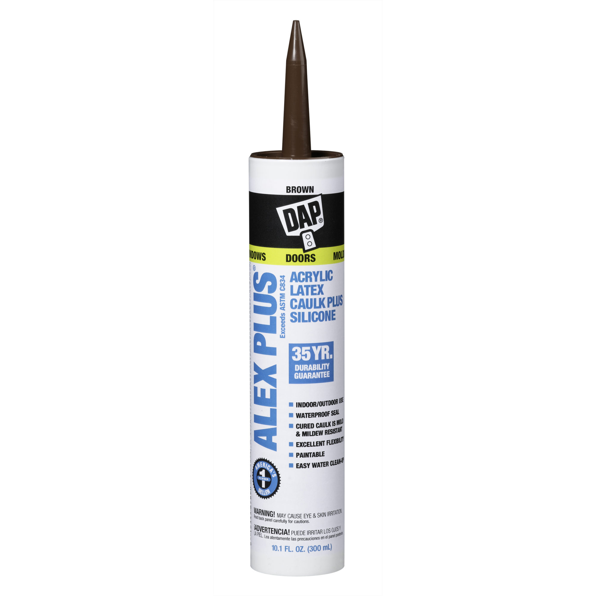 ALEX PLS ACRYLIC LATEX CAULK SILICONE BR