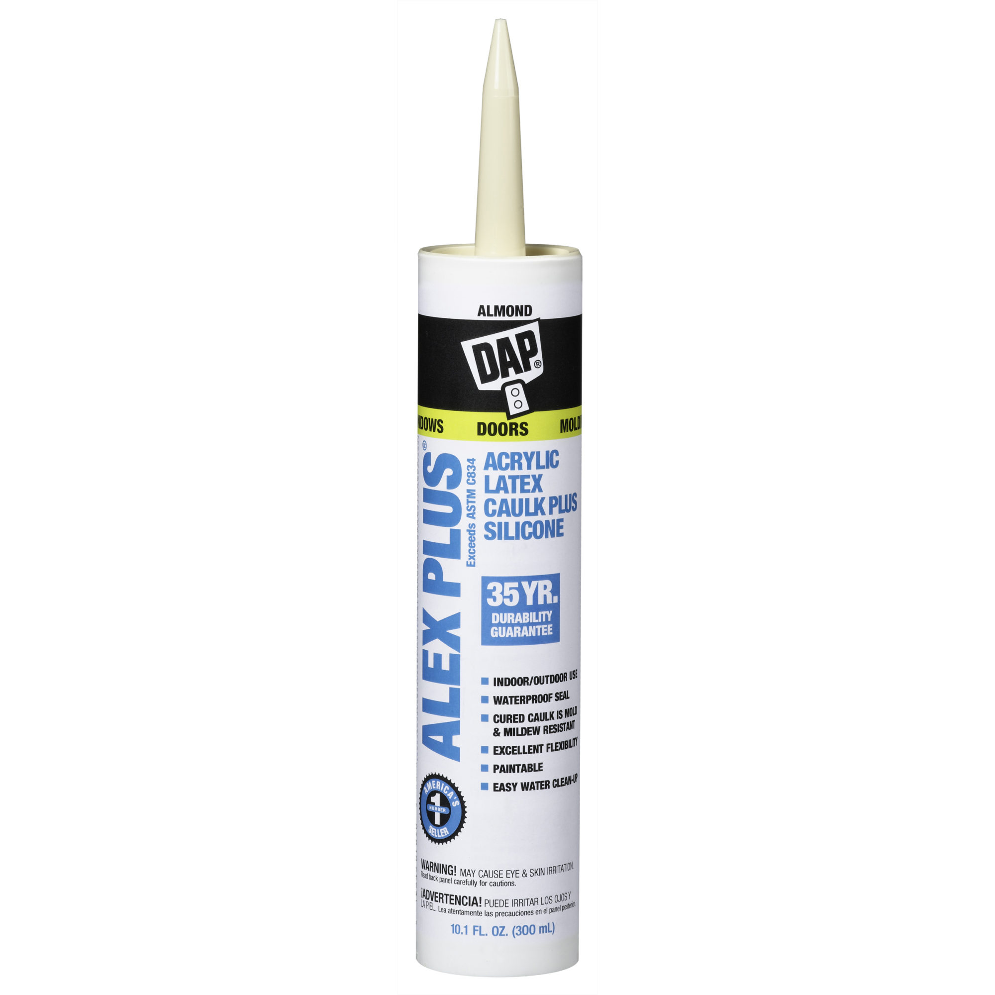 ALEX PLS ACRYLIC LATEX CAULK SILICONE AL