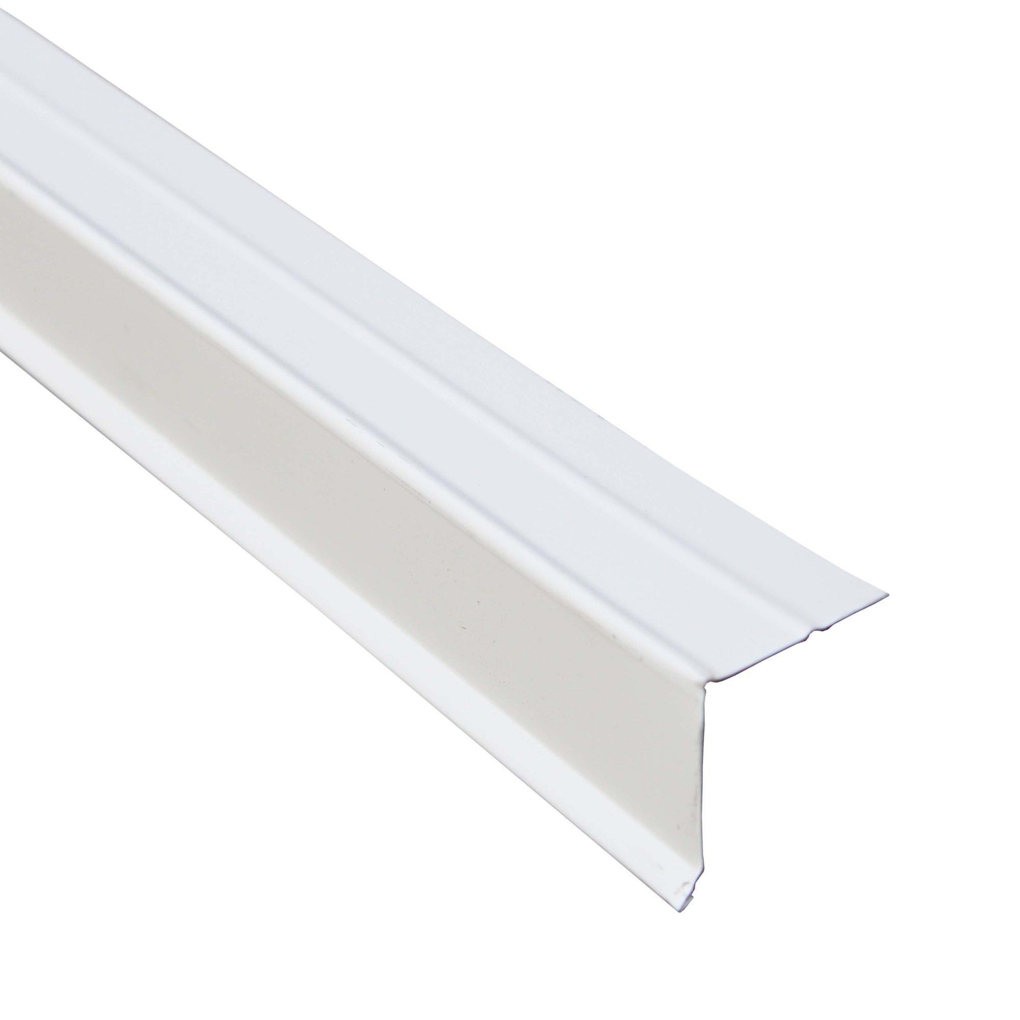 PREMIUM RAKE EDGE ALUMINUM WHITE
