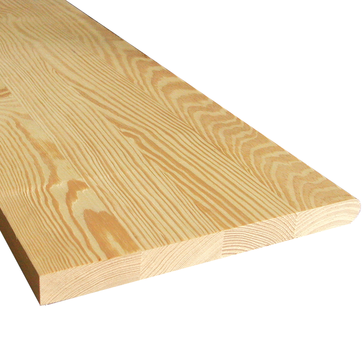 YELLOW PINE STAIR TREAD, LAMINATED