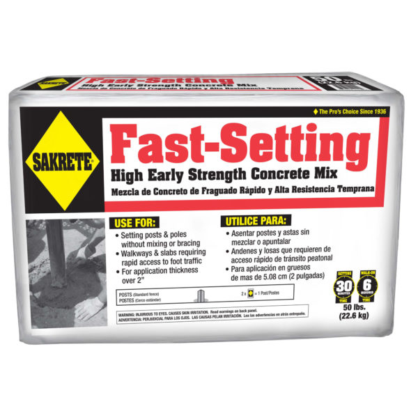 FASTSET HIGH EARLY STRENGTH CONCRETE MIX