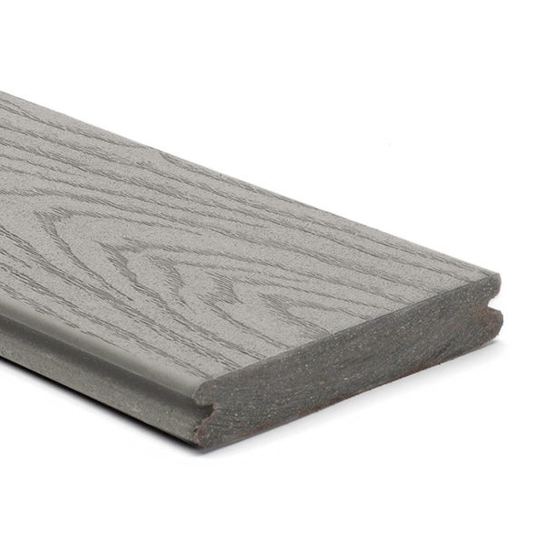 TREX SELECT GROOVED PEBBLE GREY