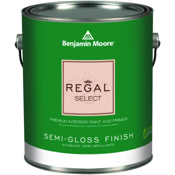 551 01 Gallon White Benjamin Moore Regal Select Semi Gloss