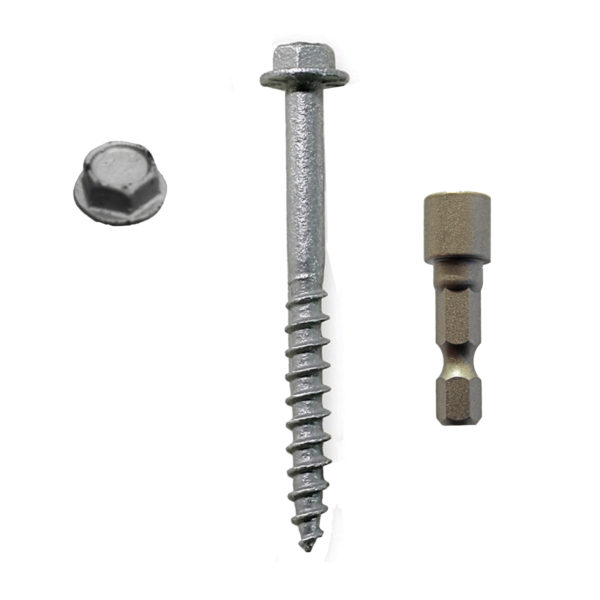 STRUCTURAL SCREW FOR CONNECTORS