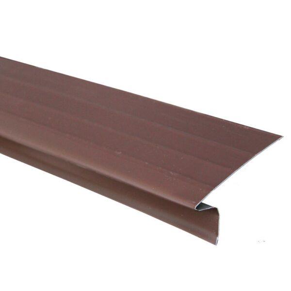 Premium Drip Edge Aluminum Brown