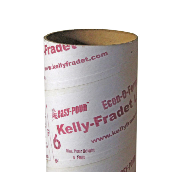 CONCRETE FORMING TUBE 27LBS PER FT