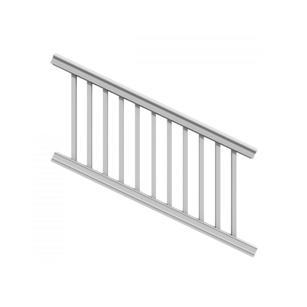 XPANSE PREMIER STAIR RAIL KIT WHITE SQ
