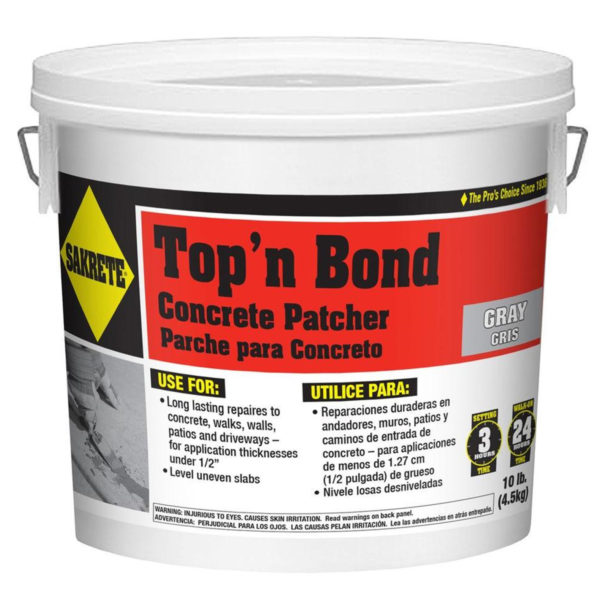 TOP N' BOND CONCRETE PATCHER